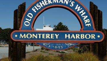 Fishermans Wharf Monterey - Carol Highsmith via Visit California