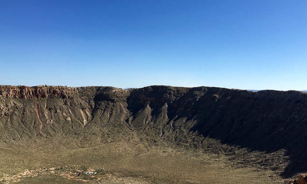 Flagstaff Crater