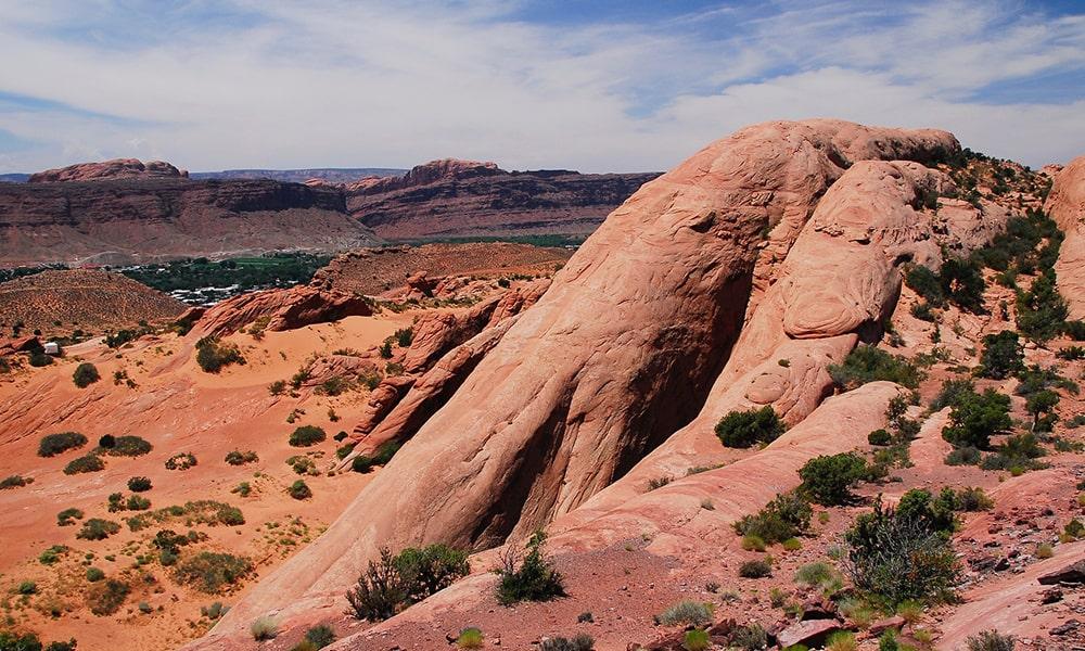 Moab bezienswaardigheden