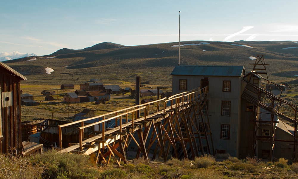 Bodie 3 - Mering via Visit California