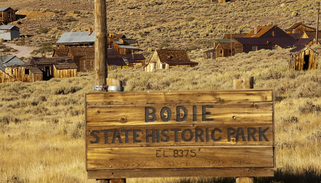 Bodie - Andreas Hub via Visit California