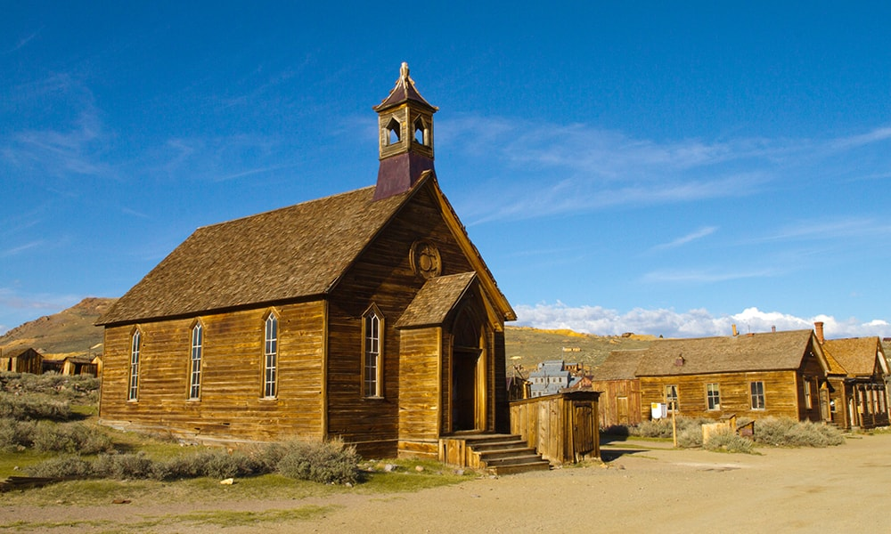 Bodie - Mering via Visit California