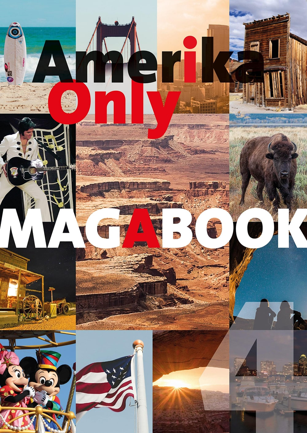Amerika Only Magabook 4 - Cover