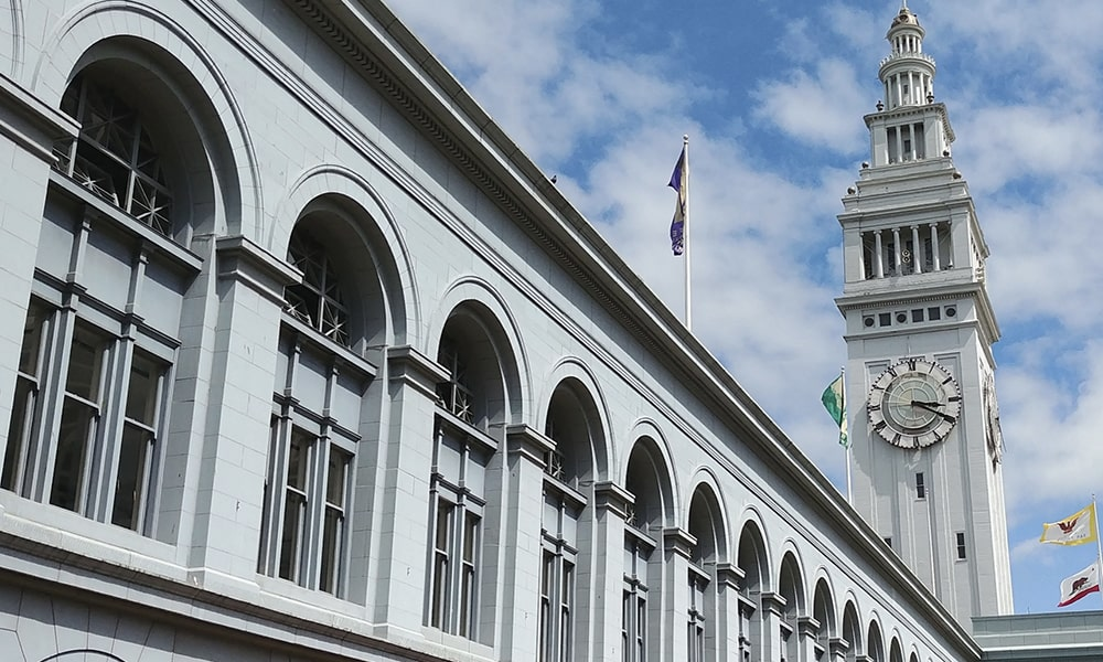 Ferry Building - Kevin Lux via Leven In SF