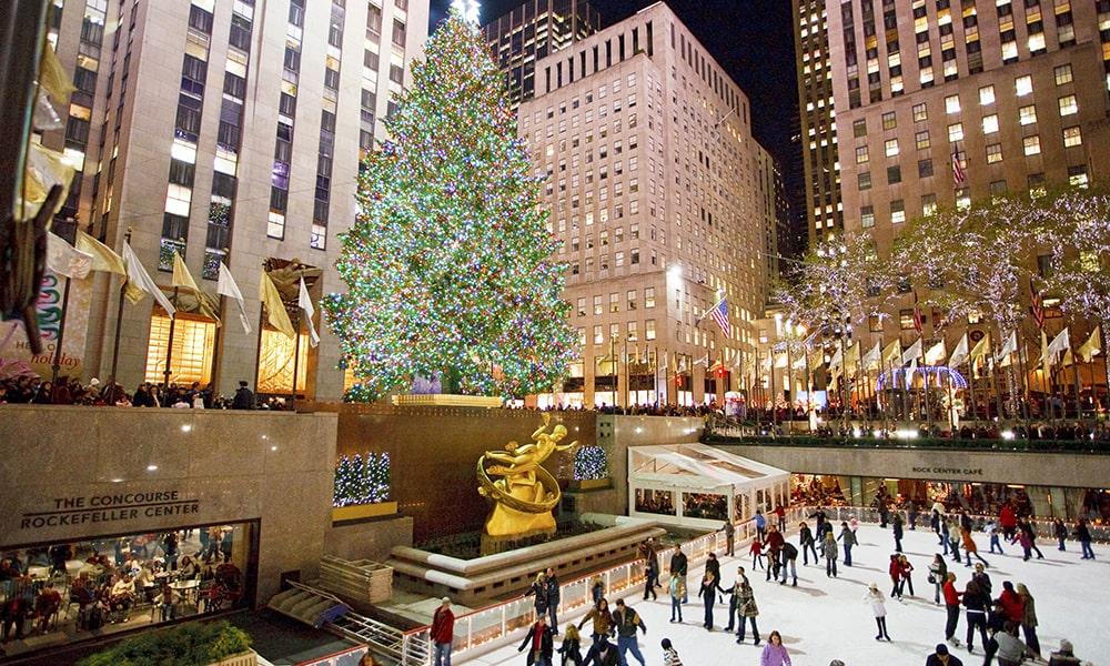 Rockefeller Christmas Tree -Will Steacy via NYC & Company