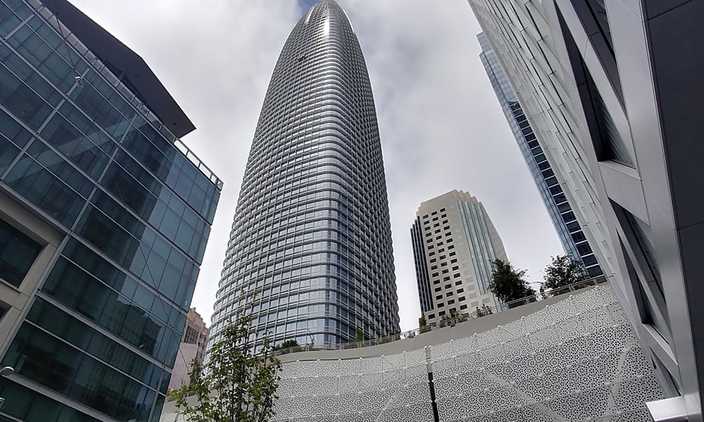 Salesforce Tower - Kevin Lux via Leven In SF
