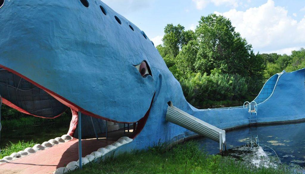Blue Whale Of Catoosa -Anneloes Keunen via Amerika Only
