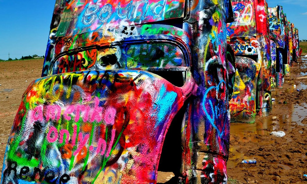 Cadillac Ranch - Anneloes Keunen via Amerika Only