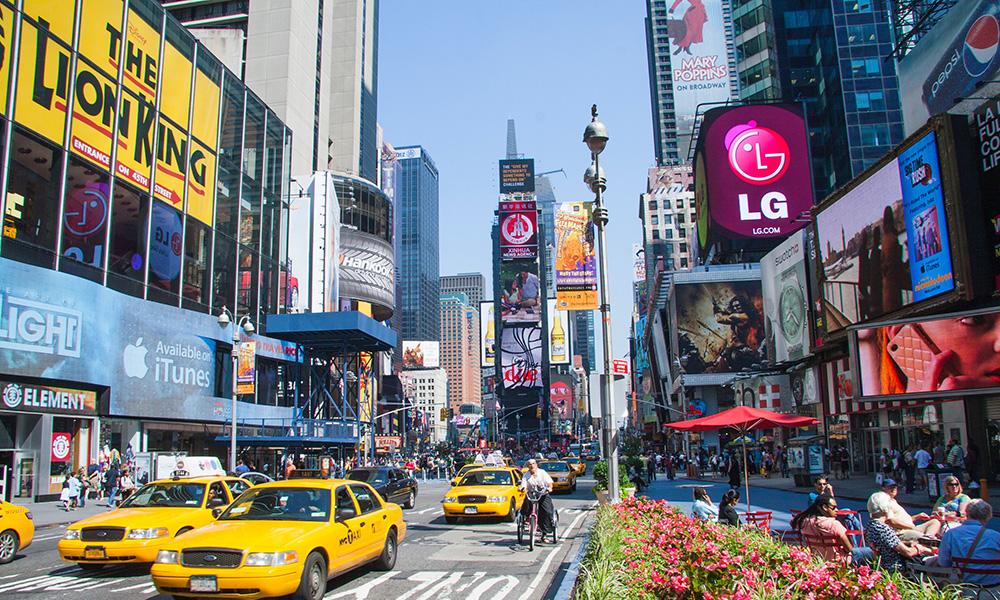 Times Square - Pixabay