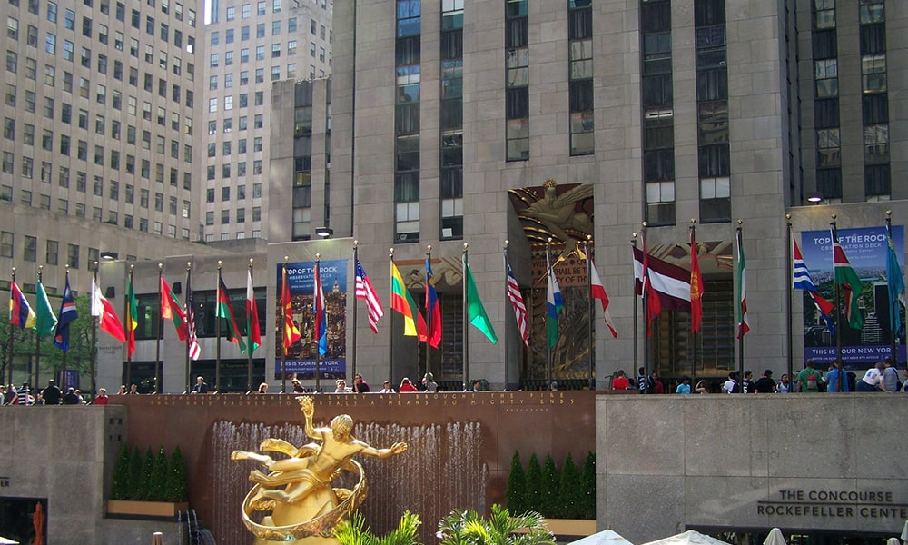 Rockefeller Center - Pixabay