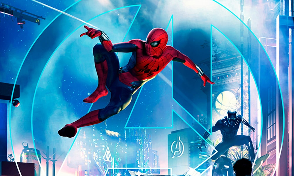 Spiderman - Disney & Marvel via Disneyland News-min