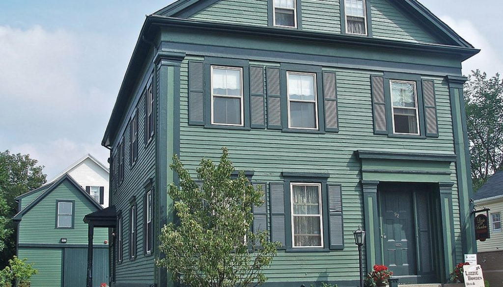 Lizzie Borden House - Public Domain-min