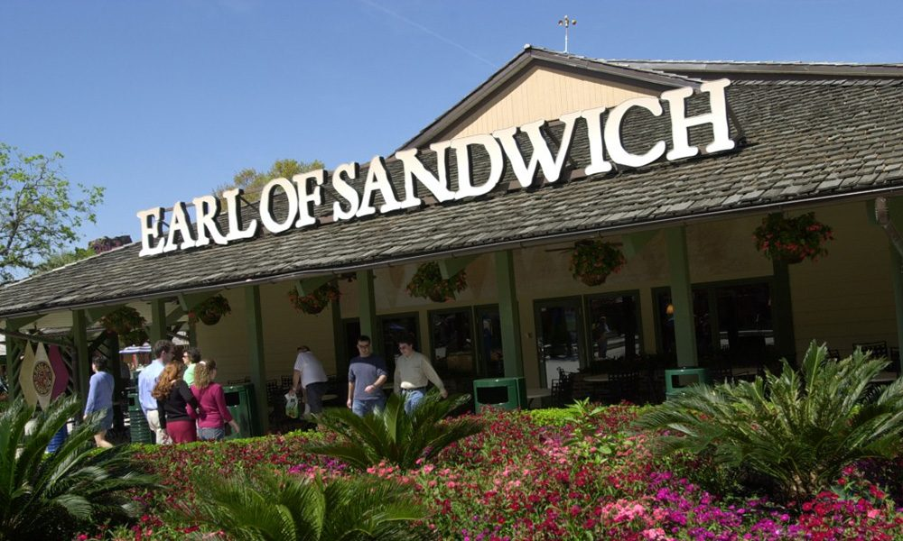 Earl of Sandwich - WDW News