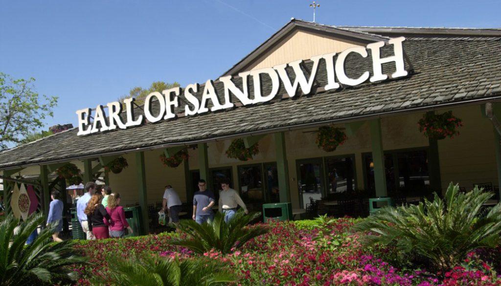 Earl of Sandwich - WDW News