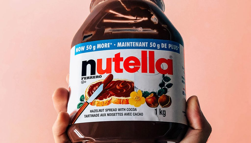Nutella - Unsplash