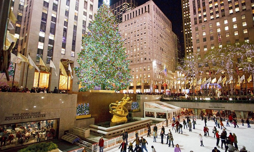 Rockefeller Christmas Tree - Will Steacy via NYC & Company-min