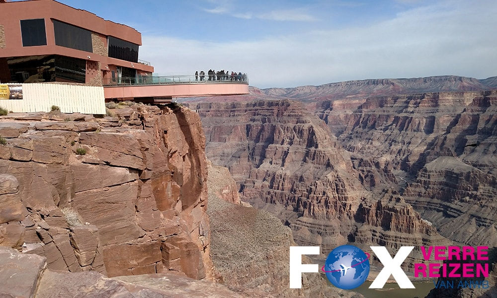 Grand Canyon Skywalk National Park FOX Verre Reizen van ANWB - Unsplash-min