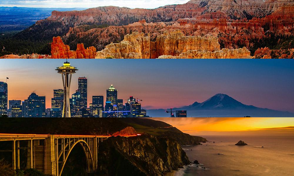 Amerika - 50 States Travelv