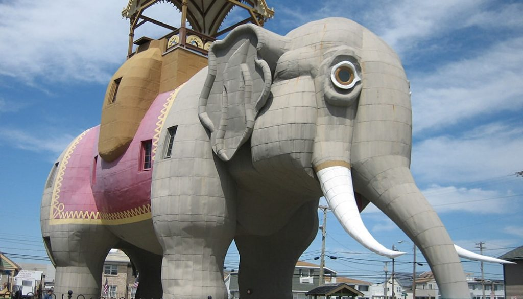 Lucy The Elephant - Public Domain via Flickr