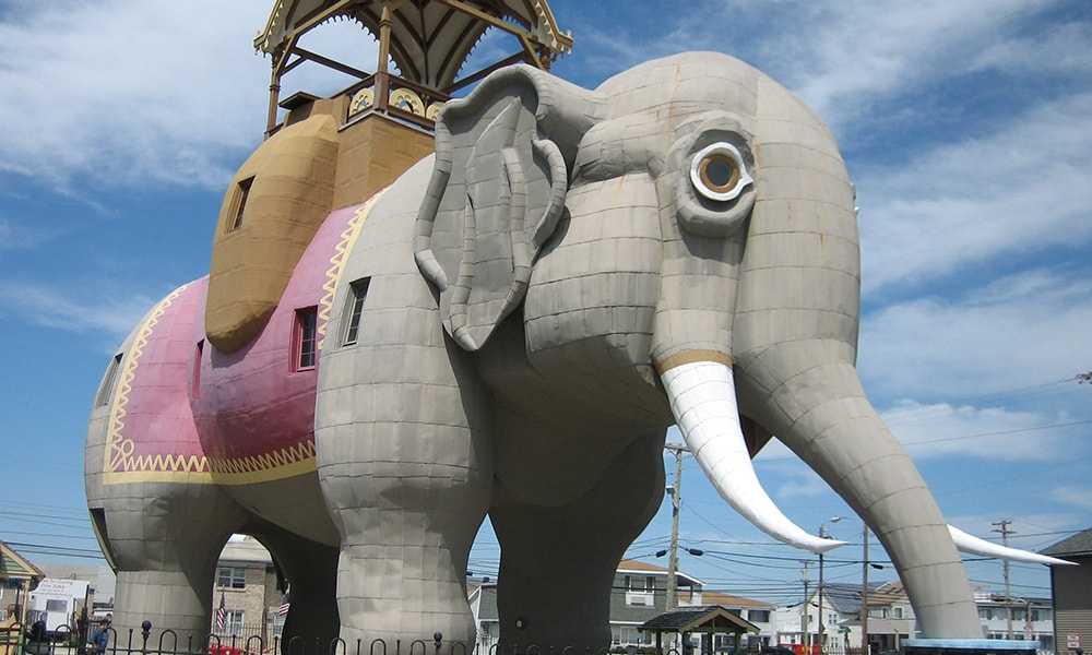 Lucy The Elephant - Public Domain via Flickr