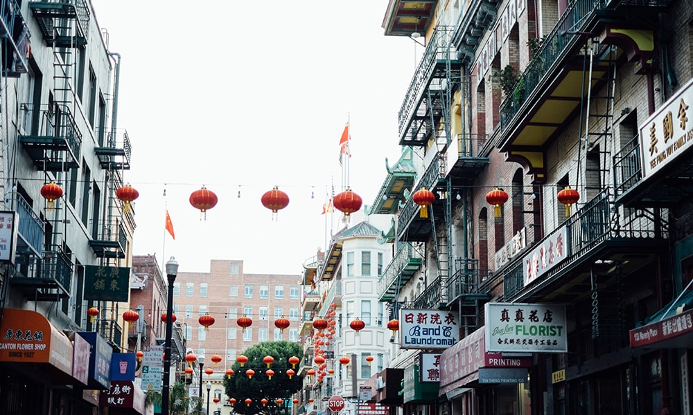 Chinatown San Francisco - Unsplash