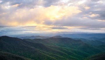Blue Ridge Mountains - Unsplash