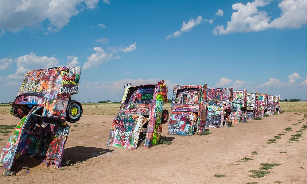 Cadillac Ranch - Unsplash