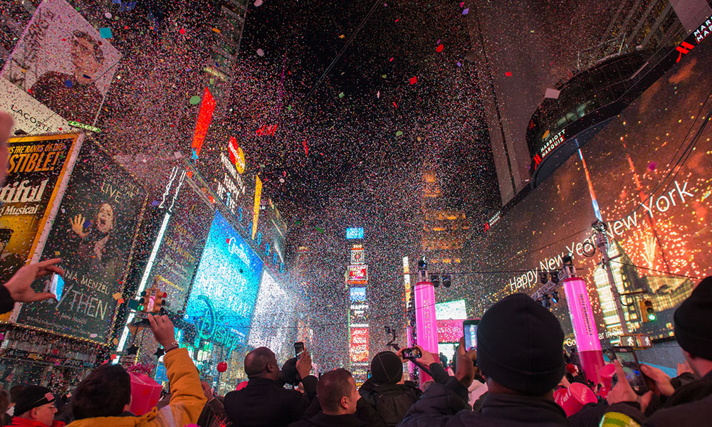 Times Square - Julienne Schaer via NYC & Company
