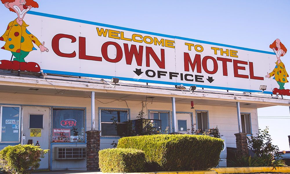 The Clown Motel - Kaitlin Godbey via Travel Nevada