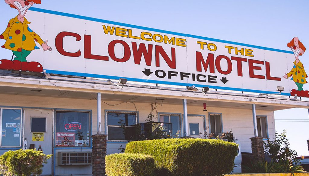 The Clown Motel - Kaitlin Godbey via Travel Nevada