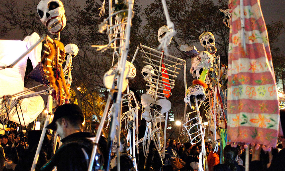The Village Halloween Parade - Joe Buglewicz via NYC & Company