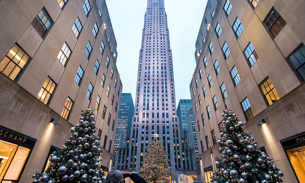 Rockefeller Christmas Tree - Unsplash
