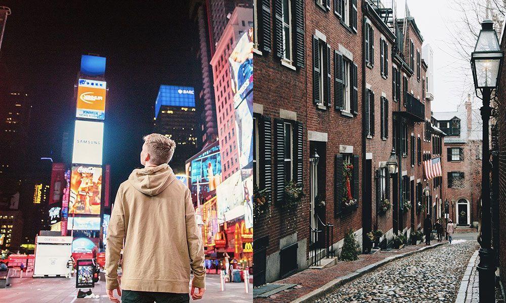 New York City en Boston - Unsplash