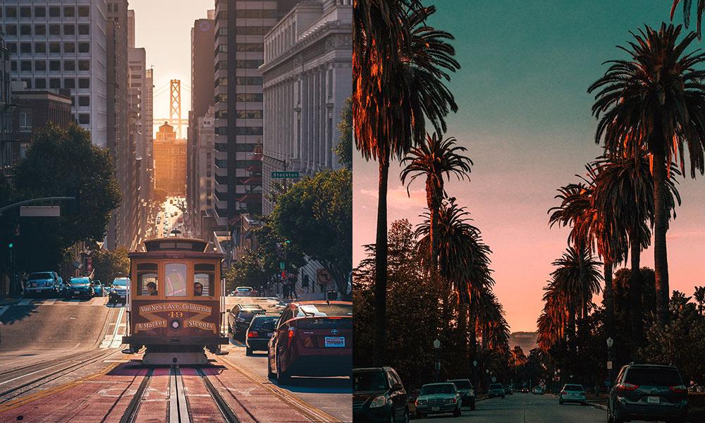 San Francisco en Los Angeles - Unsplash