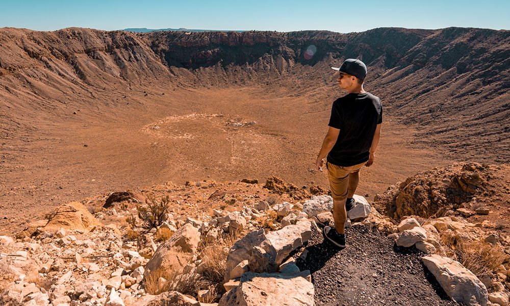 Meteor Crater - Unsplash