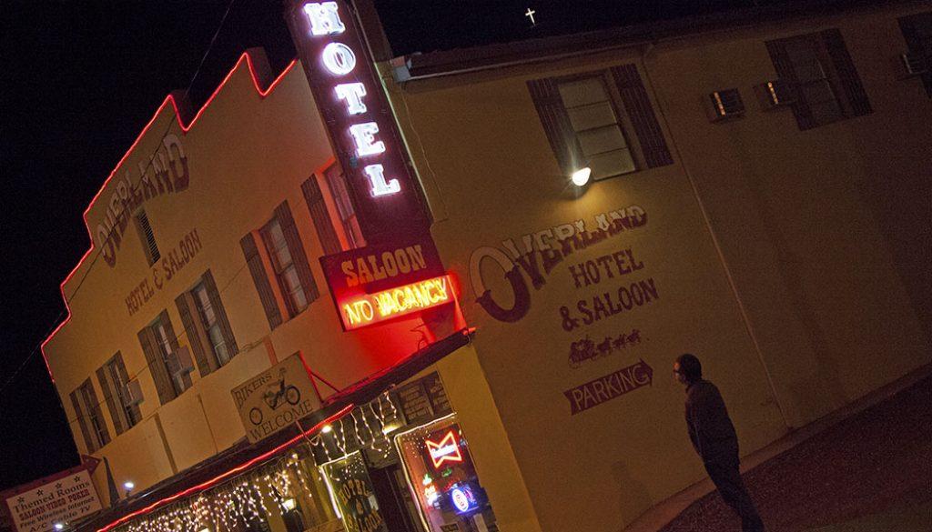 Overland Hotel & Saloon - Sydney Martinez via Travel Nevada
