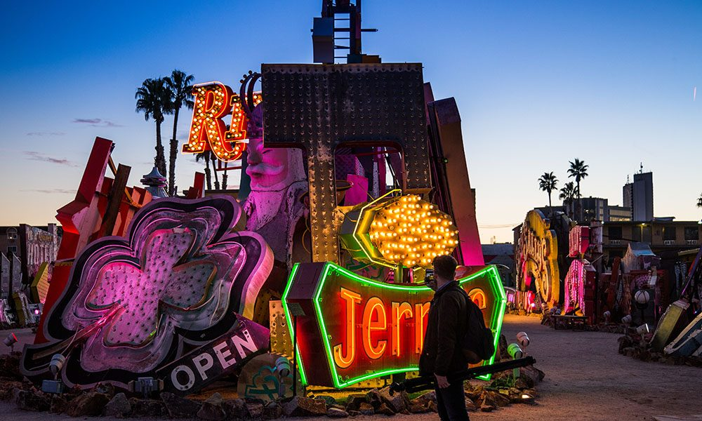 The Neon Museum - Ryan Donnell via Travel Nevada