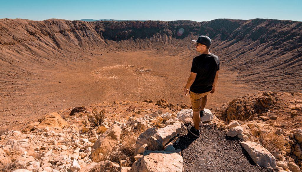 Meteor Crater 2 - Unsplash