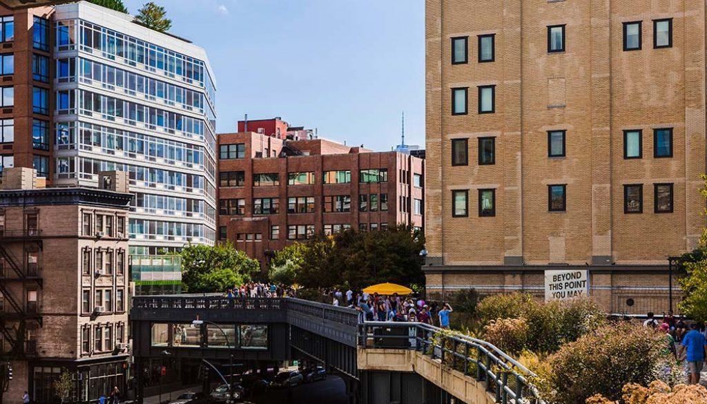 The High Line - Tagger Yancey IV via NYC & Company