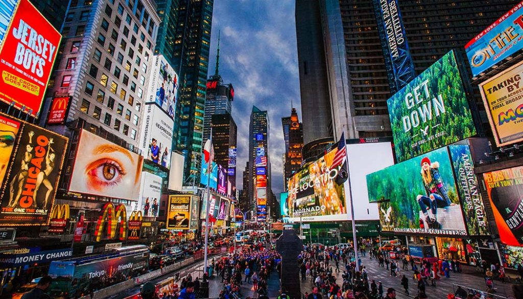 Times Square - Unsplash
