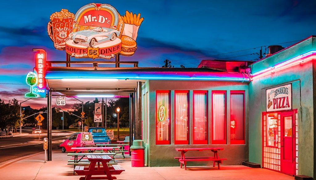 Mr. D'z Route 66 Diner - Unsplash